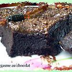 recette L'orgasme au chocolat