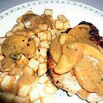 recette sauce crémeuse aux sirop d'érable
