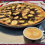 recette Tarte choco-amandine