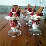 recette Coupe de fraises au mascarpone