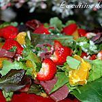recette Salade de printemps salé sucré