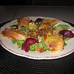 recette recette de fleurs de courgettes  de mcm  et toast gratiné