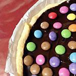 recette TARTE CHOCOLAT & SMARTIES