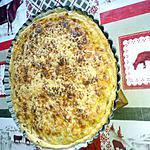 recette tarte aux poireaux jambon