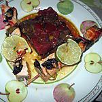 recette brochettes de saumon aux légumes