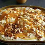 recette Glace maison sans sorbetiere (sundae caramel amandes et cacahuètes)