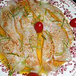 recette Filets de rouget grondin marinés