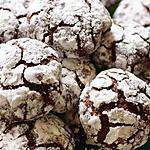 recette Crinkles – biscuits au chocolat super moelleux