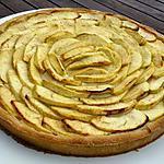 recette Tarte aux pommes et à la crème pâtissiere