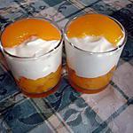 recette Verrines d'abricots au mascarpone