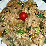 recette Rognons blancs d agneau a la chinoise
