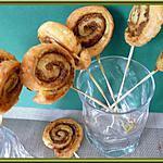recette Escargots feuilletés à la tapenade verte