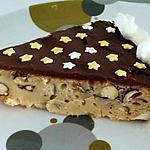 recette gâteau à la compote de pomme aux morceaux de noisette