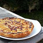 recette Tarte feuilletée aux poires