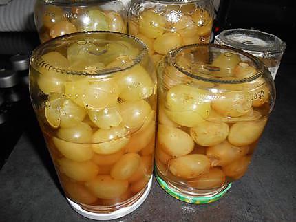 Conserves de raisin pour l'hiver 430