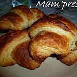 recette Croissants avec pâte feuilletée levée rapide
