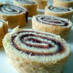recette Gâteau roulé à la confiture