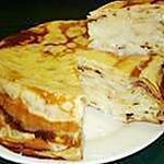 recette gâteau de crêpes sucrées