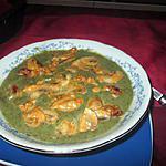 recette potage fanes  de carottes  champignons
