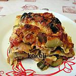 recette Lasagnes aux légumes de l'été