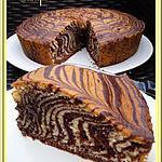 recette Zébra cake