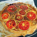 recette Tarte au thon et tomate