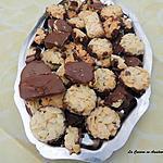 recette Croquants amandes et chocolat