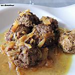 recette Boulettes aux oignons caramélisés