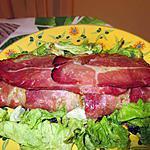 recette Roti de viande hachée au jambon cru