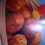 recette boulettes  de crevettes chinoise