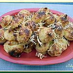 recette Croquettes de pommes de terre au comté
