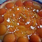 recette TARTE ABRICOT AUX SAVEURS PATISSIERES