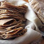 recette pain pita à la farine complète
