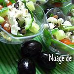 recette Salade Grecque en Amuses-Bouche