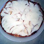 recette tarte aux pommes et crème pain d'épice