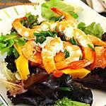 recette Salade Crevettes Mangue