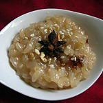 recette Riz au lait de riz aux épices et au nougat
