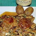 recette Sot l'y laisse de dinde aux champignons  (sot-l'y-laisse)