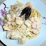 recette Pate aux poison et crustace