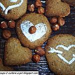 recette Biscuits Biscott ' o ' noisettes
