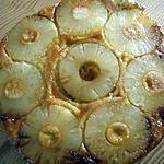 recette gateau aux ananas caramelises