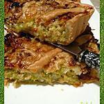 recette Tarte aux poireaux et saumon