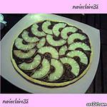 recette tarte choco ananas