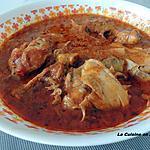 recette Cuisse de poulet au paprika et tomates