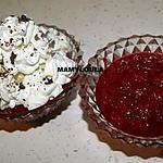 recette Compôtée de poires/framboises