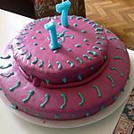 recette Gateau d'anniversaire au fondant.