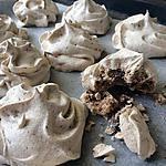 recette Meringues au chocolat