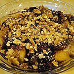 recette Pommes au four avec figues et noix