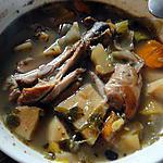 recette Soupe de poulet au vin blanc (à la mijoteuse)