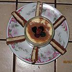 recette Marbré de mousse caramel-choco blanc .
